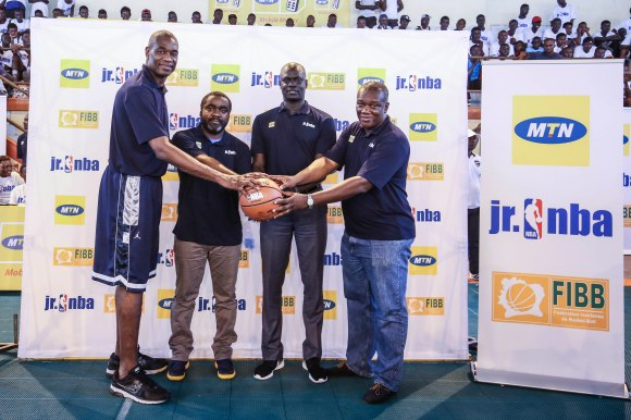 General view of the Jr NBA Launch event in Abidjan, Ivory Coast on 6 August 2016 © Barry Aldworth/eXpect LIFE